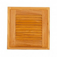 Teak Louvred Door and Frame